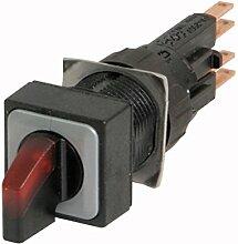 Eaton 072332 Leuchtwahltaste, 3 Stellungen, rot, rastend