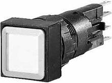 Eaton 086330 Leuchtdrucktaste, blau, rastend mit Glühlampe 24 V