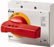 Eaton 260140 Drehgriff, rot-gelb, Abschliessbar, Baugrösse 3