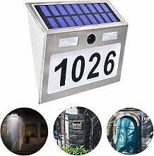 EATYNEN Hausnummer Lampe, Solar Hausnummer LED