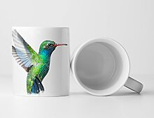 Eau Zone Fotokunst Tasse Geschenk Kolibri –