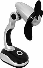 Eaxus 58630 Schreibtisch Ventilator Mini Desk Fan,