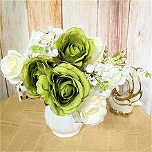 Eazyhurry Künstliche Blumen, Kunstblumen, Seide,
