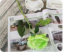 Eazyhurry Künstliche Blumen, Seide, künstliche