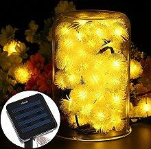 eBasic Solar Lichterkette, 20er LED solar
