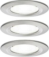 EBL Set Nova rd starr LED IP44 3-stepdim 3x6,5W