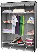 EBS® Kleiderschrank Faltschrank Stoffschrank