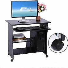 EBTOOLS Computertisch, schwarz Schreibtisch