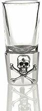Eburya Skull & Crossbones Shot Glas -