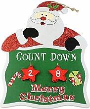 eBuyGB Weihnachts-Adventskalender Weihnachtsmann
