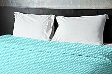 Ebydesign Bettbezug, geometrisch, Queen-Size-Bett,