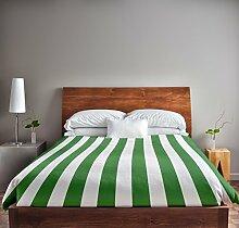 Ebydesign Bettbezug, gestreift, Queen-Size-Bett,
