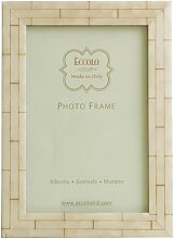 Eccolo Wand-Bilderrahmen, Holz, 5x 7-inch, Weiß