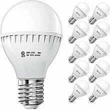 ECD Germany 10 Stück 5W E27 LED Lampe | 2800