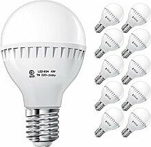 ECD Germany 10 Stück 7W E27 LED Lampe | 6000