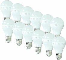 ECD Germany 12 Stück 5W E27 LED Lampe | 2800
