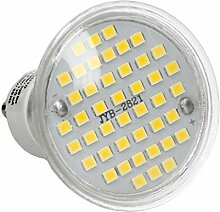 ECD Germany 20er Set LED Lampe GU10 44SMD Spot 3W