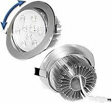 ECD Germany 4er Pack LED Einbaustrahler 9W 230V