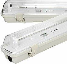 ECD Germany LED Feuchtraumleuchte 120cm - IP65