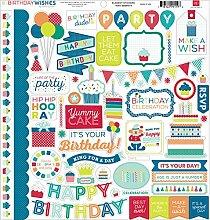 Echo Park Paper Birthday Wishes Boy Element Karton