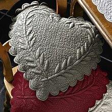 Echte handgefertigte Quilt-Herzkissen: Jedes