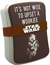 Echte Star Wars Chewbacca Wookiee Bambus Brotdose