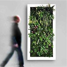 ECHTE TOUCH Künstliche Pflanze Wand–made auf Bestellung