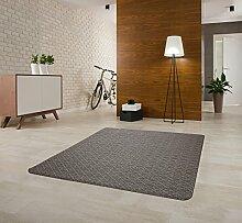 Echter Hit! Moderner Dunkelgrauer Teppich in unterschiedlichen Mustern! Spitzenqualität! (200x290)