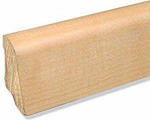 Echtholz Sockelleiste Fußbodenleiste aus