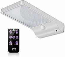 ECHTPower 48 LED Solarleuchte Garten Solarlampe