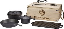 ECHTWERK Topf-Set Dutch Oven (Set, 7-tlg.)