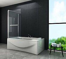 Eck-Duschtrennwand UNIONO 70 (Badewanne)