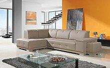 Eck-Sofa »TINA« Elegant, Wohnlandschaft ink. Schlaffunktion