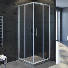 Eckeinstieg Duschkabine 120x120cm Sicherheitsglas