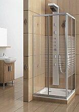 Eckeinstieg Duschkabine Echtglas Sicherheitsglas