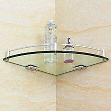 ✨ Eckregal Einzelregale Glas-Duschablage