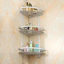 Eckregal Wandtattoo-Dusche Badezimmer mit Haken