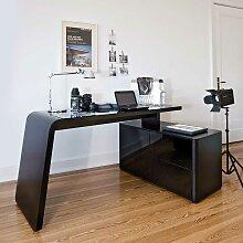 Eckschreibtisch schwarz  Eckschreibtisch Schwarz günstig online kaufen | LIONSHOME