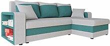 Ecksofa Fano Lux Design Eckcouch Couch! mit Zwei
