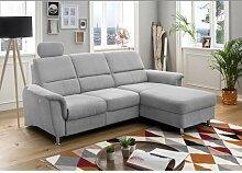 Ecksofa Hogan mit Relaxfunktion Ebern Designs
