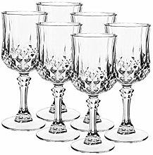 Eclat, Serie Longchamp, Weinkelch 25 cl, Glas-Set