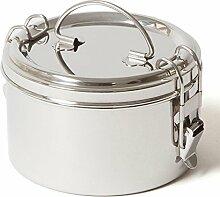 ECO Brotbox   Tiffin Bowl   Runde Lunchbox aus