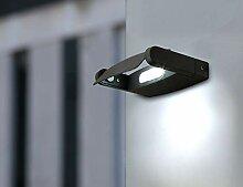 Eco Light Aussenwandleuchte LED-Spot, anthrazit,