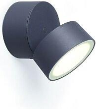 ECO-LIGHT LED Außenleuchte TRUMPET Alu anthrazit
