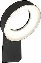 Eco Light LED-Außenwandleuchte Meridian, anthrazit, 800 lm, IP54 6163 S GR