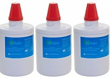 EcoAqua, 3 Kühlschrankfilter EFF EFF 6011 kompatibel mit Da290003g/F Samsung