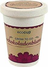 Ecocup, Schokoladenblume, Nachhaltige Geschenkidee