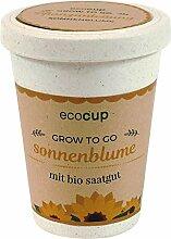 Ecocup, Sonnenblume, Bio Zertifiziert, Nachhaltige