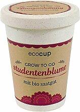 Ecocup, Studentenblume, Bio Zertifiziert,