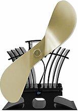 Ecofan 806 BelAir Gold Ventilator Gold für Pelletofen Gasofen Holzofen Kaminofen